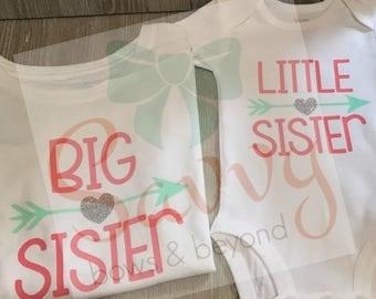 Big Sister/ Little Sister T-Shirts