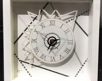 Spikey Doodle Clock