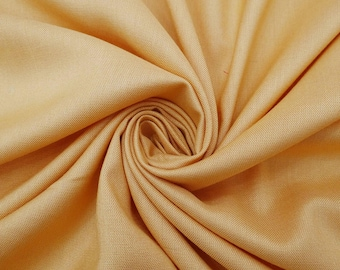 """Peach Color Fabric, Crafting Material, Dressmaking Fabric, Sewing Accessories, 39"""" Inch Rayon Fabric By The Yard PZBR5B"""