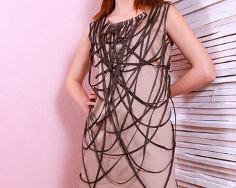 Formal, party and cocatils dress/Sleeveless design dress.