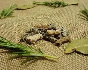 Cleansed Fulgurite Pieces