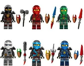 Ninjago etsy - Lego ninjago nouvelle saison ...