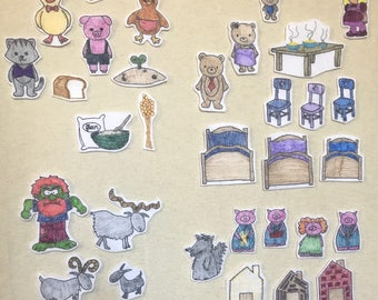 Fairytale Classics Flannel Board Stories