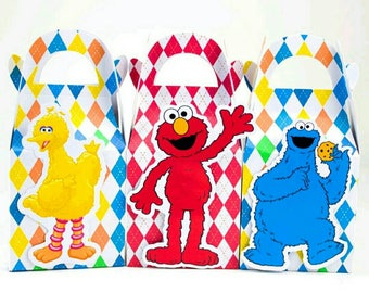 Sesame Street birthday, Sesame Street party favors,Sesame Street 9 count boxes,Sesame Street birthday shirt, Sesame Street invites,Sesame St
