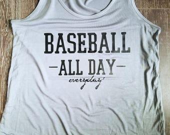 Baseball All Day Everyday Tank
