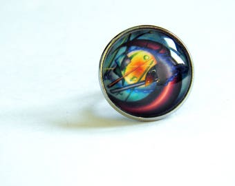 Ring, filigree (oil)