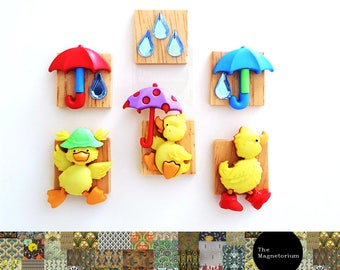 Duck Fridge Magnet Set