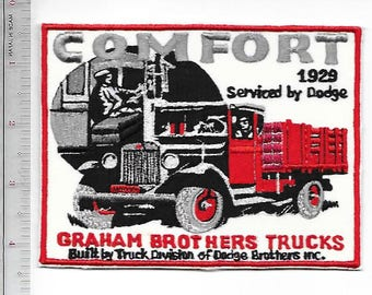 Vintage Truck Graham Brothers Trucks Built & Serviced by Dodge Brothers 1929 Promo