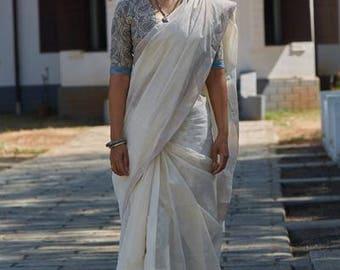 Kerala Settu Saree ~ Velli