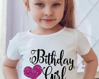 birthday girl shirt glitter shirt pink glitter shirt birthday onesie first birthday girl second birthday girl third birthday girl fourth