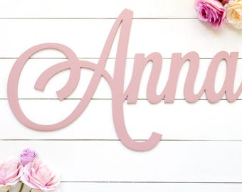 """42"""" WIDE - 1/4"""" thick laser cut name sign / birthday party sign / baby shower decor / wedding sign / nursery decor / bridal shower sign"""