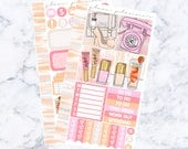 PRE-SALE! Strawberry Dreamsicle Bitty Kit (Glam Planner Stickers for Erin Condren Life Planner)