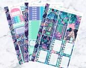 PRE-SALE! Neon Night Essentials Kit (Glam Planner Stickers for Erin Condren Life Planner)