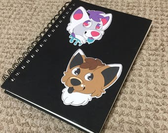 Fursona Stickers