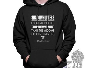 Looking Better in Black Than the Widows of our Enemies Since 1234 Printed on Unisex Hoodie Sweatshirt