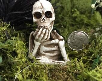 Miniature Skeleton Bust