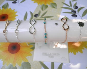 bracelets or ankles jewelry