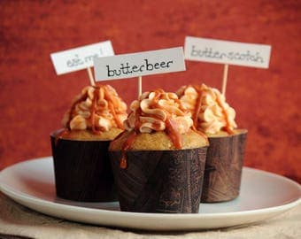 Butterbeer Cup Cakes