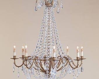 Currey & Company Versailles Chandelier #9876