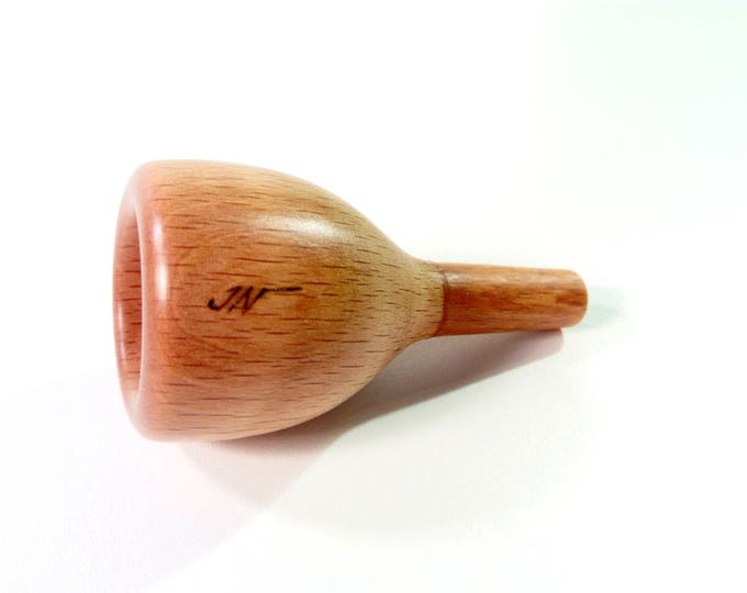 Jeunaturel wood Tenor Trombone / Euphonium mouthpiece 11C ergonomic rim small shank