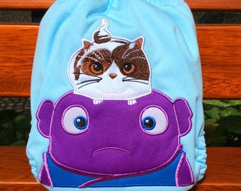 Oh from Home Boov All-In-One One Size AIO Cloth Nappy Cloth Diaper