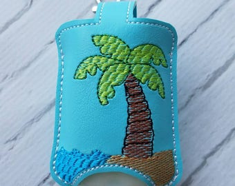 Palm Tree Hand Sanitizer Holder