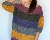 Crochet Sweater PATTERN -...