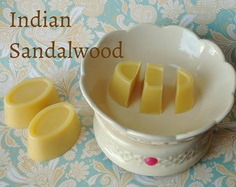 Indian sandalwood - wax melts - wax shots - candle melts - tart melts - home fragrance