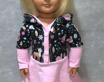"18"" Doll dress,doll clothes,toy dress,toy clothes, play clothes,gift for girls,18 inch doll clothes"