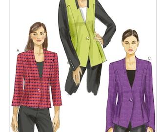 Vogue sewing pattern 9039 misses' jacket 3 variations sizes 6-14 UNCUT OOP