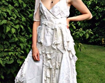 Festival, vintage,antique,wedding dress