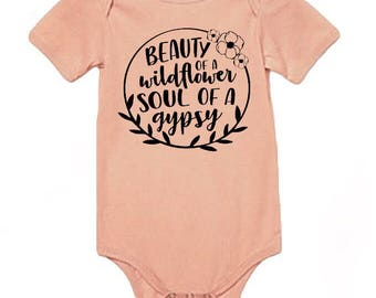 GYPSY infant onesie