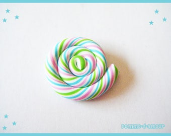 fimo - polymer clay cabochon