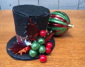 Christmas Mini Top Hat