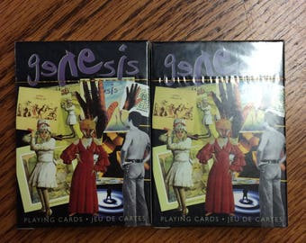 Deck of 2 - SEALED Playing Cards, Genesis