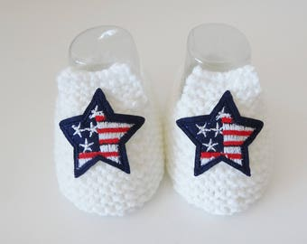 baby booties - loafers USA baby 3 months