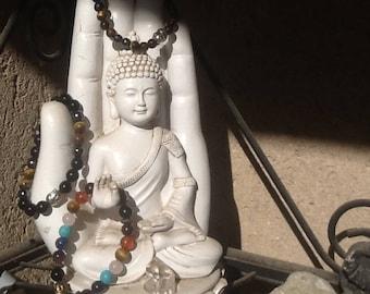 Bracelets with stones for men, Protection bracelet, Chakra bracelet