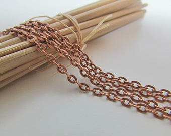 3 m chain copper metal - 3 designs