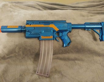 """Auto Stryfe called """"A Few of My Favorite Things"""" modified Nerf blaster"""