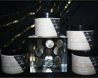 ALL NATURAL   -   Colloidal Silver INFUSED Anti-Age Cream