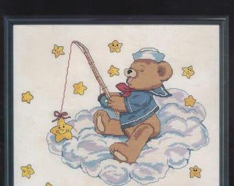 Catch a Falling Star, Janlynn Cross Stitch Pattern Leaflet 900-16