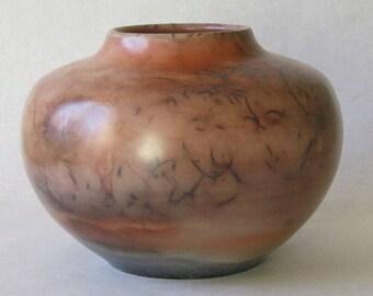 saggar fired ceramic vessel 17-031