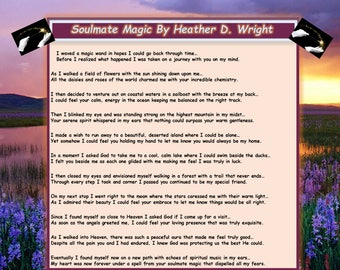 Soulmate Magic - Printable Poetry Instant Download