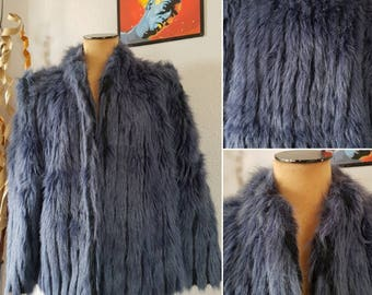 Vintage Faux fur Coat Vest