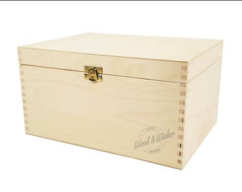Plywood Box Etsy