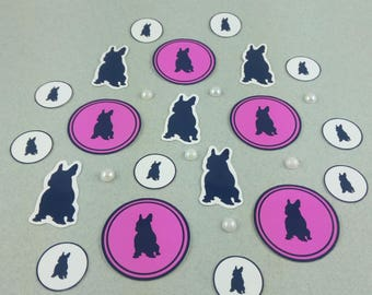 "Big sticker set ""French Bulldog"""