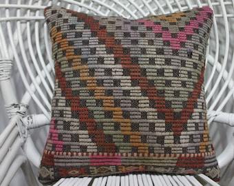 wool pillow turkish cushions 16x16 bamboo chair bohemian throw pillows bohemian decor 16x16 turkish kilim pillows throw pillows 3491