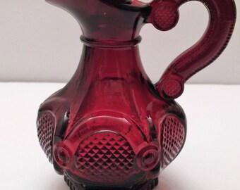 Avon Cape Cod Ruby Red Cruet