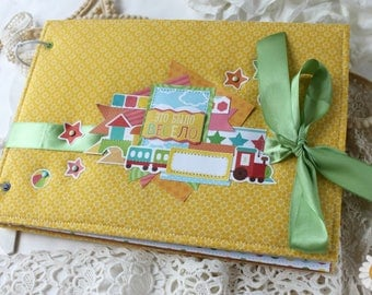 Memory album Kindergarten Scrapbooking handmade For children 2-5 years old Album order