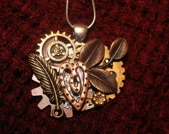 Small Steampunk Necklace